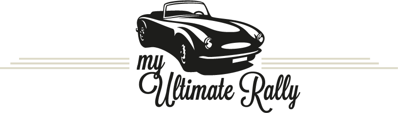 Classic car rally events